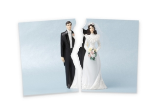 Divorcing couple